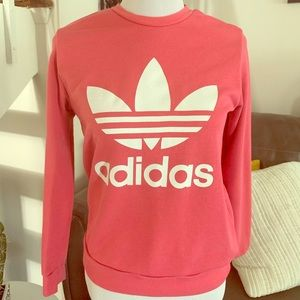 adidas Shirts & Tops - Sold 🎈Adidas Originals Trefoil Crew Sweatshirt